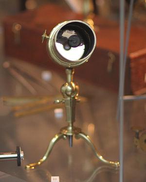 Gregorian telescope - Image: Gregorian telescope circa 1735 in Putnam Gallery, 2009 11 24