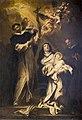 Gregorio de ferrari, i ss. rosa da lima, vincenzo ferrer e luigi bertràn, San Domenico (Taggia).jpg