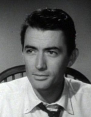 Gentleman's Agreement - Image: Gregory Peck in Gentleman's Agreement trailer closeup