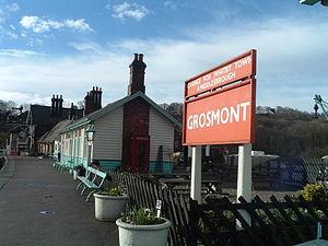 Grosmont railway station - Image: Grosmont Station