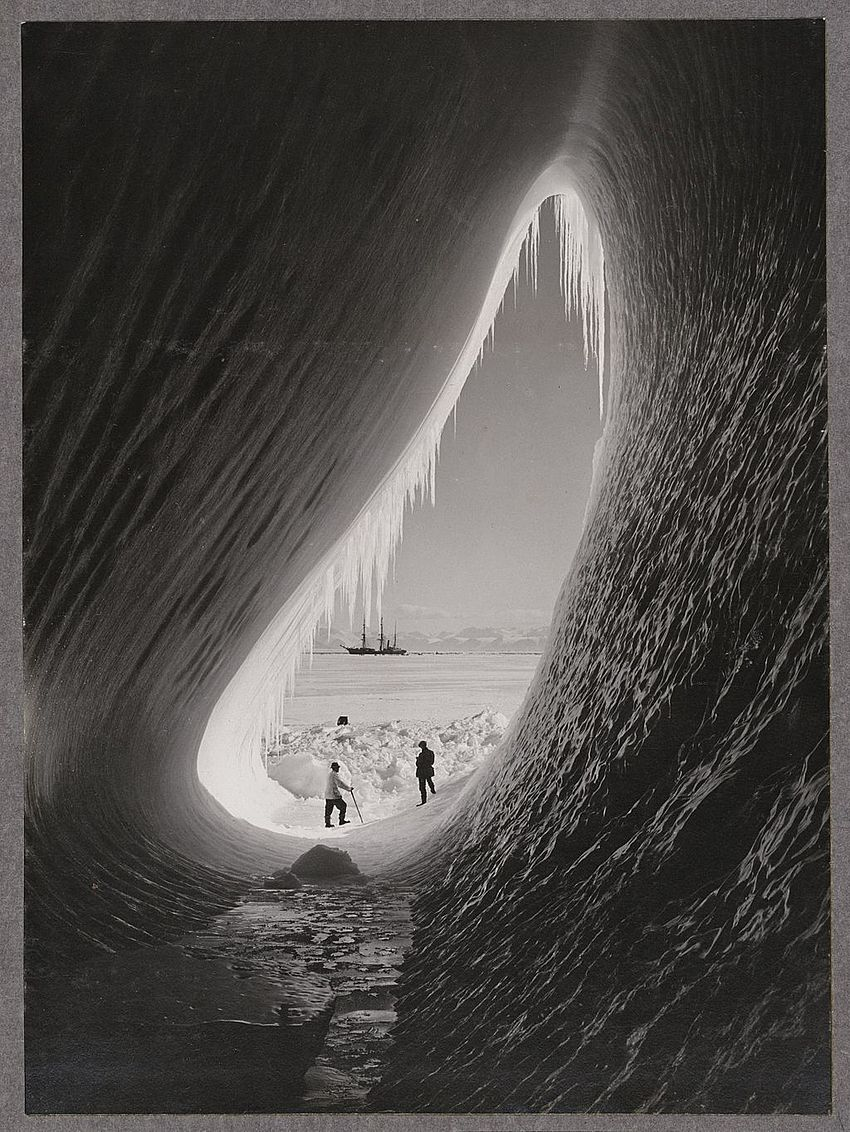 Grotto in an iceberg