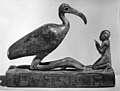 Group statue of Thoth-ibis and devotee on a base inscribed for Padihorsiese MET 54.125.4-bw.jpg