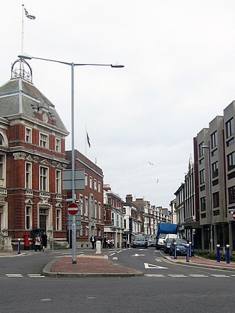 Eastbourne - Grove Road, part of the Little Chelsea area of Eastbourne