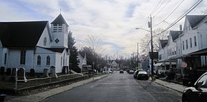 Groveville, New Jersey - Along Church Street (CR 609)