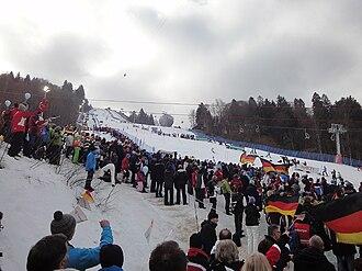 FIS Alpine World Ski Championships 2011 - Women's Slalom at Gudiberg on 19 February