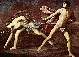 Golden apple - Image: Guido Reni Atalanta e Ippomene (Napoli)