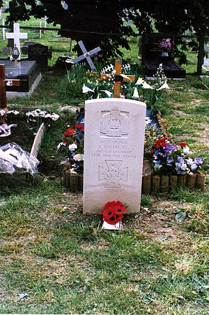 James Collis - Gunner James Collis VC Headstone