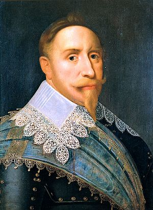 Treaty of Bärwalde - Image: Gustav II of Sweden