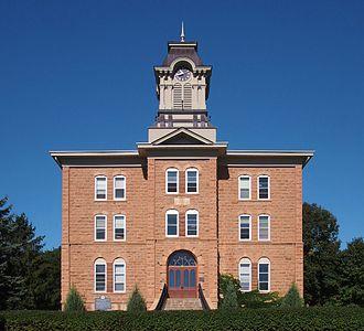 Gustavus Adolphus College - Old Main