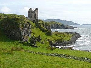 Kerrera - Gylen Castle