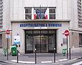 Hôpital La Collégiale, rue Vésale.JPG