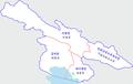 Hǎiběi Zàngzú -map.png