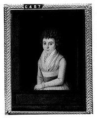 Eleonora Petronella Elisabeth van Oldenbarneveld, genaamd Witte Tullingh (1775-1848), wife of Daniël Willem d'Ablaing