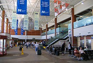 Halifax Stanfield International Airport - Arrivals hall