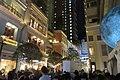 HK 灣仔 Wan Chai 利東街 Lee Tung The Avenue night 月球博物館 big Moon Museum by UK Luke Jerram October 2017 IX1 30.jpg