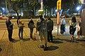 HK CWB 銅鑼灣 Causeway Bay 高士威道 Causeway Bay Road bus stop n visitors June 2019 IX2 01.jpg