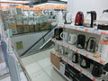 HK North Point 252-264 King's Road 怡安中心 Greenwich Centre night Fortress shop interior May-2014.JPG