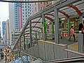 HK Sai Ying Pun 西環正街 Centre Street 03 Escalators May-2013 Bonham Road.JPG