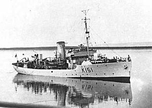 HMCS Lunenburg - Image: HMCS Lunenburg
