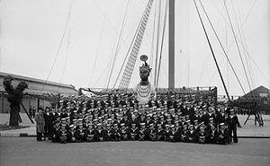 HMS Ganges (shore establishment) - Image: HMS Ganges mast
