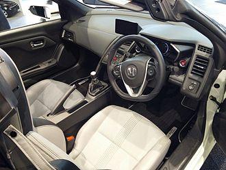 Honda S660 - Honda S660 interior (Japan)