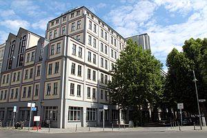 Humanistischer Verband Deutschlands - HVD headquarters in Berlin.