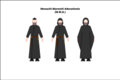 Habit of the Maronite monks of Adoration.png