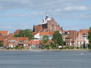 "The cathedral ""Haderslev Domkirke"" i..."