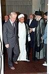Hafez al-Assad visit to Iran, 1 August 1997 (20).jpg