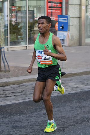 Granollers Half Marathon - Haile Gebrselassie had back-to-back wins in 2005 and 2006.