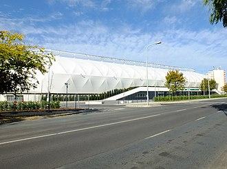 2017–18 Nemzeti Bajnokság I - Image: Haladás Sportkomplexum 2017 10 12