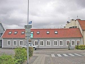 Hallands Nyheter - Image: Hallands Nyheter, headquarters in Falkenberg