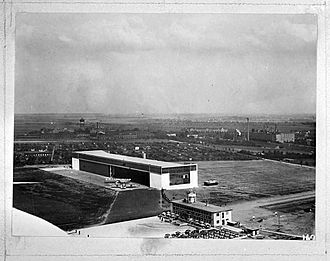 Leipzig/Halle Airport - The airport in May 1929