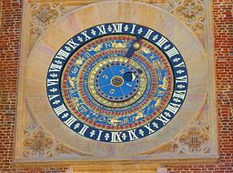 Hampton Court Astrological Clock