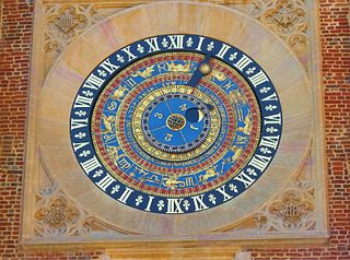 Hampton Court astronomical clock