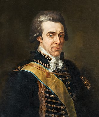 Axel von Fersen the Younger - Axel von Fersen in 1799.
