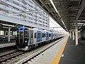 Hanshin 5711 at Fukae Station.jpg