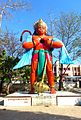 Hanuman Idol at CRPF mandir (Temple) Neemuch.jpg