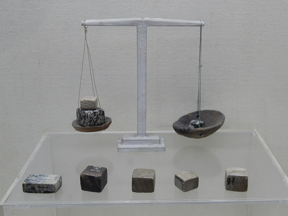 Harappan (Indus Valley) Balance & Weights