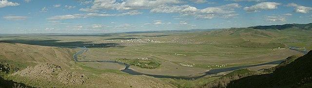 Место, где располагался Каракорум, в 2003 году