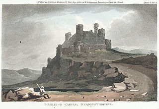 Harleigh i.e. Harlech Castle, Merionethshire