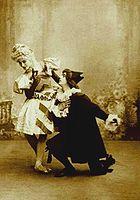 Harlequinade - Pavlova & Fokine -1902.JPG