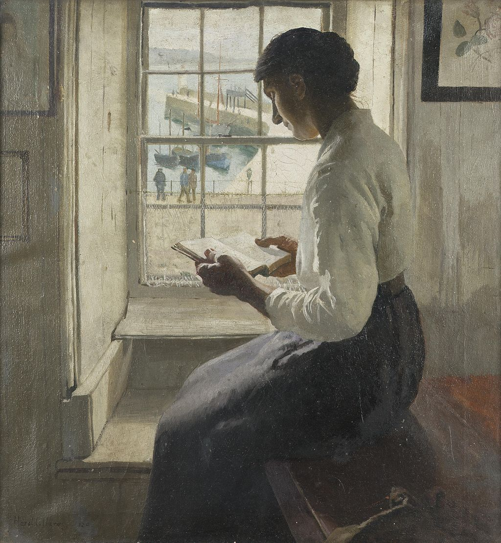Harold Harvey, 1920 - The new book.jpg