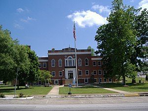 Munfordville, Kentucky - Hart County Courthouse in Munfordville
