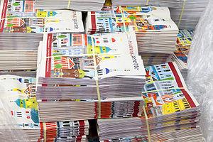 Harvard Gazette - Harvard Gazette distribution at the school's 364th Commencement