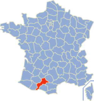 Communes of the Haute-Garonne department