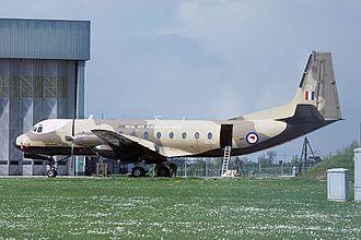 Hawker Siddeley Andover - A RNZAF Andover in 1977