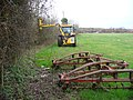 Hedge-cutting, Warnborough Green - geograph.org.uk - 670859.jpg