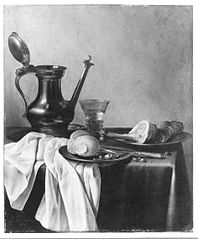 Still Life with 'Jan-Steen' Pitcher