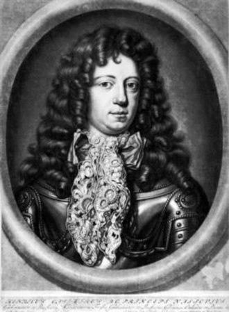 Abraham Blooteling - Henry Casimir II, Prince of Nassau-Dietz. Mezzotint, ca. 1690
